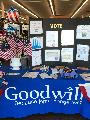 Registering Voters at Goodwill in Mt Vernon